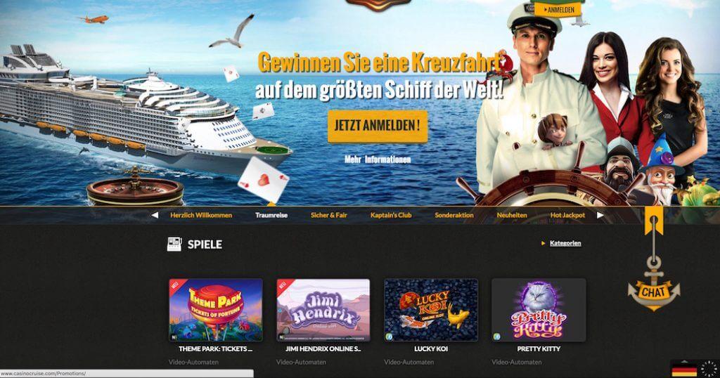 Casino Cruise Auszahlung